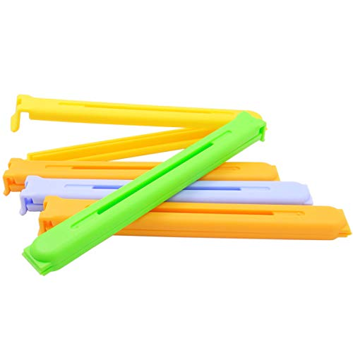 5PCS Large Size 63 Inches Multicolors FreshKeeping Sealing Clips Bag Clips Sealer