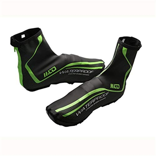 Overschoenen PU Fluff Winddichte Waterdichte Schoen Cover Winter Warm Stof Mountainbike Riding Schoen Cover Winter Winddicht Warm Bescherming Galoshes Overschoenen voor Mannen Vrouwen