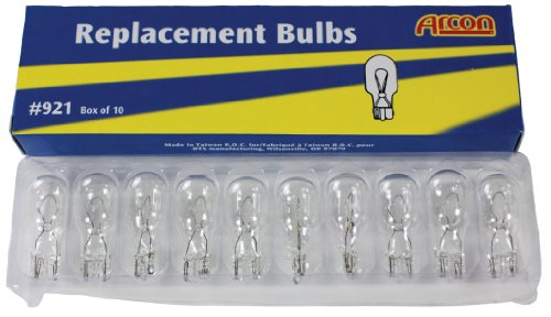 Arcon 16794 Replacement Bulb #921, (Box of 10)