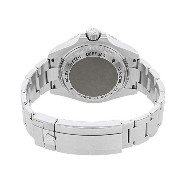 Fashion Shopping Rolex Deepsea Deep Blue Dial Stainless Steel Mens Watch 116660BLSO