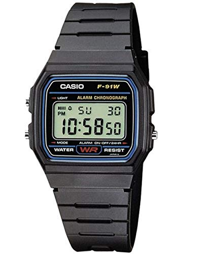 Casio Unisex Watch in Resin/Acrylic Glass with Date Display and LED Light -...