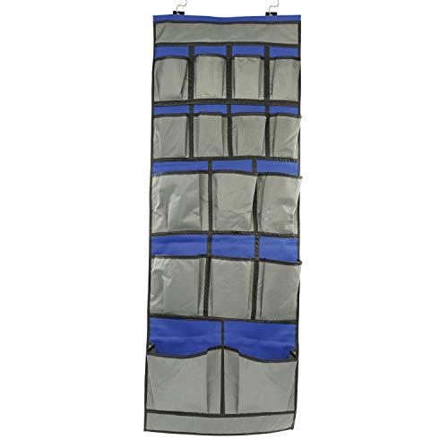 Cartrend 10240 Bolsa Colgante, autocaravanas y caravanas, para casa, Garaje, Barco, Compartimentos, tamaño 47 cm x 123 cm, 16 Fächer