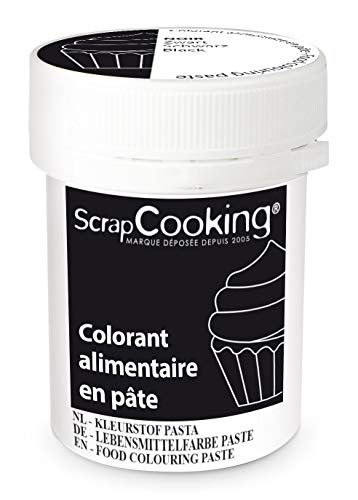 ScrapCooking Colorant en Pâte Noir 20 g