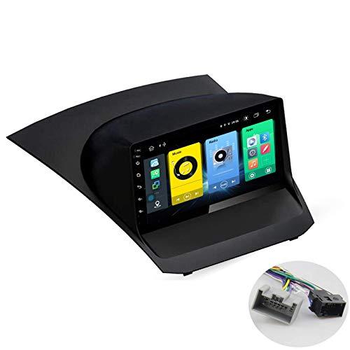 W-bgzsj Sat Android 10.0 Coche estéreo, Radio GPS para Ford Fiesta 2009-2017 Unidad de Cabeza de navegación MP5 Reproductor Multimedia Video Receptor con 4G / 5G WiFi DSP RDS FM MirrorLink