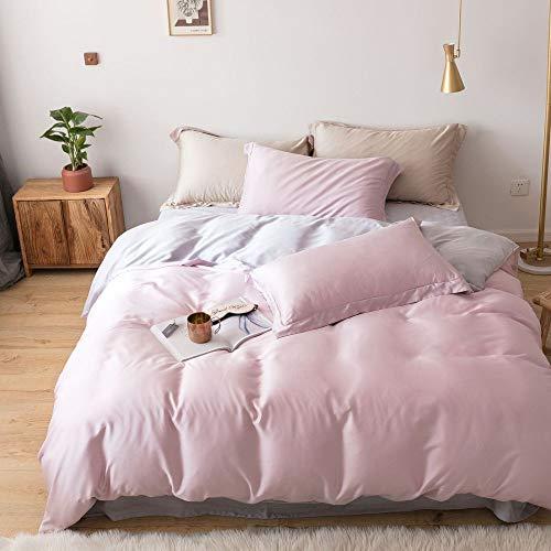 yaonuli Tencel 4-delig, dubbelzijdig, van lyocell-vezels, lakens, deken, 200 x 230 vellen, 250 x 250 cm