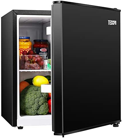 Mini Fridge TECCPO 1 7 Cu Ft Dorm Refrigerator Energy Star Compact Refrigerator 6 Adjustable product image