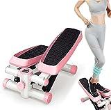 Stepper Mini Stair Fitness Hydraulic Home Silent Twist Cintura Fitness Aerobic Fitness para Principiantes Adecuado para Sala de Estar Oficina Gimnasio