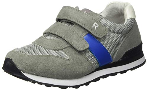 Richter Kinderschuhe Jungen Junior Sneaker, Grau (Rock/Blue/White 6101), 31 EU