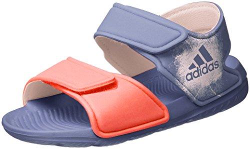 adidas Unisex-Kinder Altaswim Sandalen, Violett (Super Purple/Haze Coral/Easy Coral), 28 EU