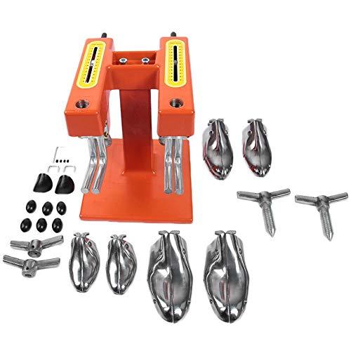 Hililand Horma Zapatos de máquina de Estiramiento, expansión de Zapatos Manual Aluminio para Zapatero