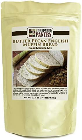 The Prepared Pantry Butter Pecan English Muffin Bread Mix Single Pack For Bread Machine or Oven product image