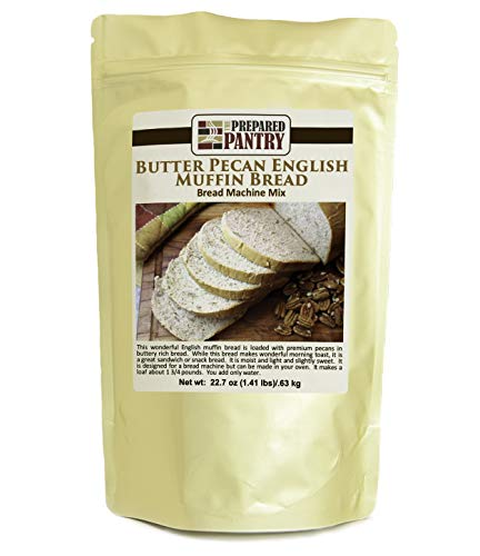 The Prepared Pantry Butter Pecan English Muffin Bread Mix; Single Pack; For Bread Machine or Oven