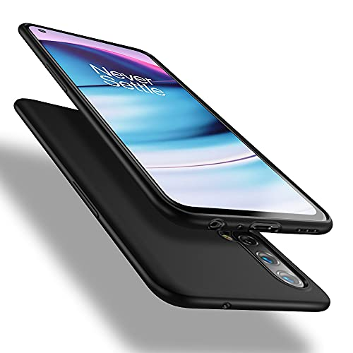 X-level Funda para OnePlus Nord CE 5G, Carcasa para OnePlus Nord CE 5G Suave TPU Gel Silicona Ultra Fina Anti-Arañazos y Protección a Bordes Funda Phone Case para OnePlus Nord CE 5G - Negro