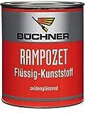 Rampozet Flüssig-Kunststoff 750 ml/für Balkone, Keller, Feuchträume, Treppen usw, für innen und außen, chlorfrei, mild riechend, seidenglänzend (Farblos)