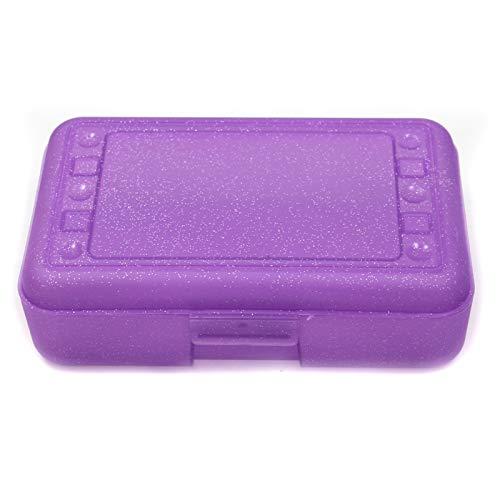 Romanoff Products Pencil Box, Purple Sparkle