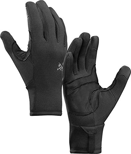 Arcteryx Rivet Glove Schwarz, Polartec Fingerhandschuh, Größe XL - Farbe Black