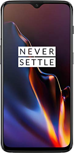OnePlus 6T 6 GB RAM 128 GB UK SIM-Free Smartphone - Mirror Black (2 Year Manufacturer Warranty)