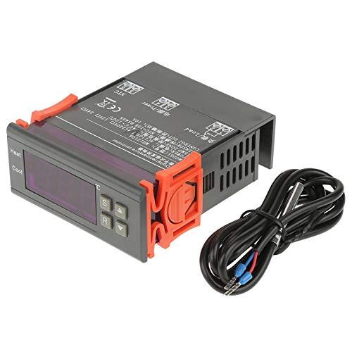 MH1210A Mini termostato digital LED Control de calor y frío - Controlador de temperatura digital 40~120 con sonda de sensor (DC12V)(AC110V)