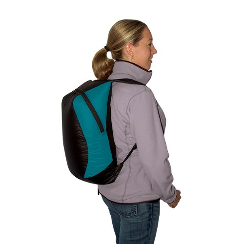 Sea to Summit Travelling Light Ultra-SIL 20-Liter Travel Day Pack (Pacific Blue)