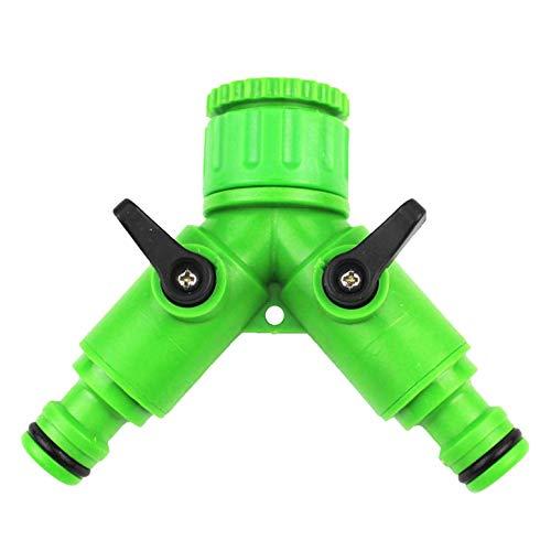 Fiween Waschmaschinen-Wasserventil, Umschaltventil, geteilter Durchflussabscheider, Waschmaschine, Wasserhahn grün