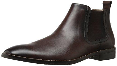 Amazon Brand - 206 Collective Men's Capitol Ankle Chelsea Boot, Black, 12 D US