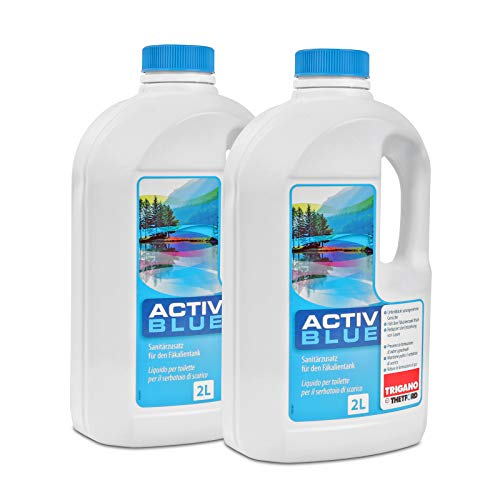 Thetford Activ Blue Toiletten Zusatz für den Abwasserbehälter 4 Ltr