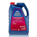 PEAK OET Extended Life Red/Pink Concentrate Antifreeze/Coolant for Asian Vehicles, 1 Gal.