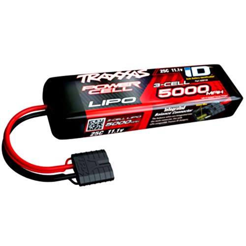 Traxxas 2872X - Power Cell 3S 11.1V LiPo Battery, 25C 5000mAh, iD Connector
