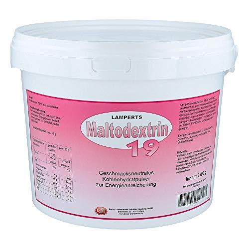 Maltodextrin 19 Lamperts Pulver, 3500 g