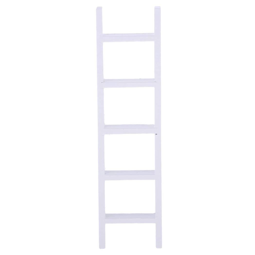 Amazon.es: Winter Winner Escalera Escala de Madera Blanca en Miniatura de casa de munecas 1/12 Decoracion Accesorios de Jardin Hada habitacion: Juguetes y juegos
