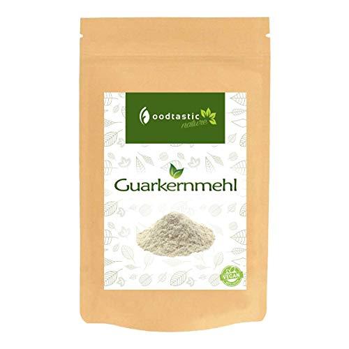 Foodtastic Guarkernmehl 1000g / 1kg I Low Carb Backzutat I natürliches und pflanzliches Verdickungsmittel I