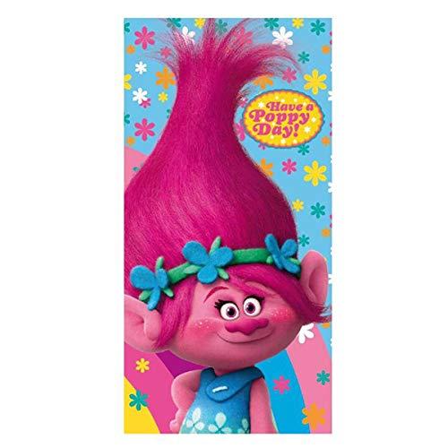 CERDÁ Toalla Trolls Have a Poppy Day algodon
