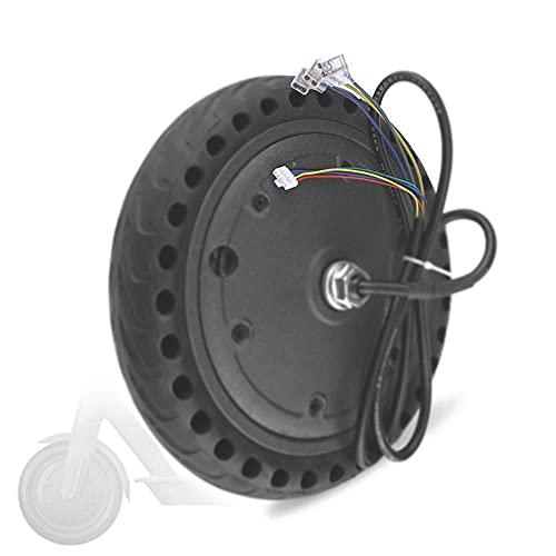 DLILI Compatible con Scooters eléctricos, Motor de CC sin escobillas 36V 250-350W, neumáticos Antideslizantes y Resistentes al Desgaste, reemplazo de Ruedas motrices para Scooters
