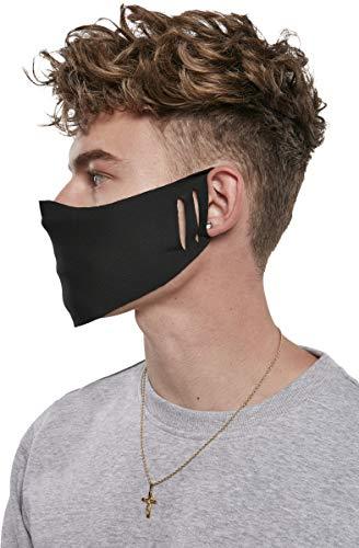 Urban Classics Unisex-Adult Seamless Face Mask 10-Pack Alltagsmaske, black, one size