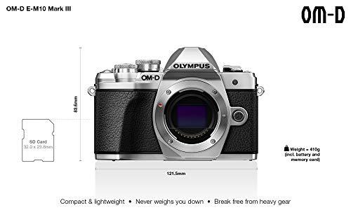Olympus E-M10 Mark III Fotocamera Digitale