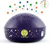 'Touch Active, Easy Clean' Twilight Constellation Galaxy Round Projector Night Light by Lumitusi (Le Petit Prince)