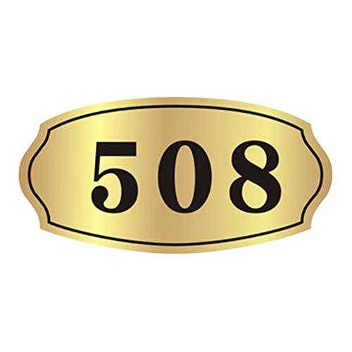 Zimmernummer Personalisierte Hausnummer Acryl Türschild Schiefer Selbstklebend Türnummer Mit Wunschnummer Aufkleber Hausnummern Schild Benutzerdefiniertes Hausschild für Tür Zuhause Hotel