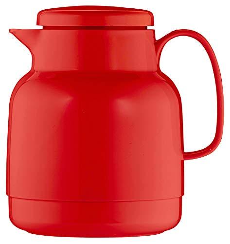 Helios Mondo Kunststoff-Isolierkanne, rot, 1 Liter