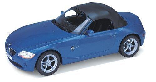 Welly 22421 BMW Z4 Cabrio metallizzato modello di auto blu in scala 1:24