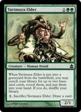 Magic The Gathering - Yavimaya Elder - Commander