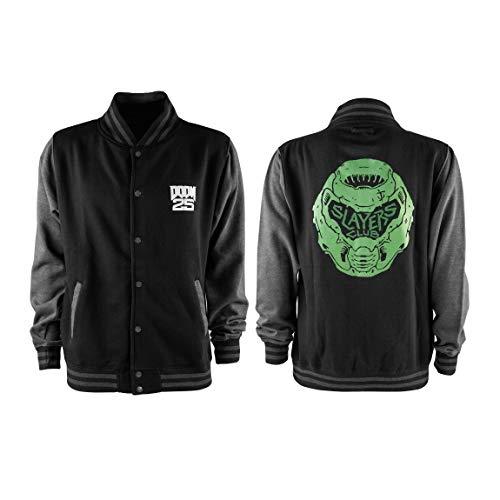 "DOOM Eternal College Jacket ""Slayers Club"" Size XL"