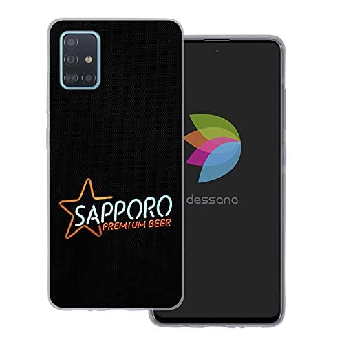 dessana Japan Sightseeing - Cover trasparente per Samsung Galaxy A51 Sapporo birra