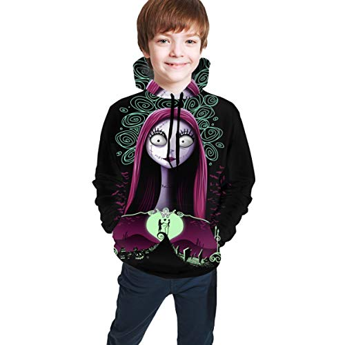 Kids Hooded The Nightmare Before Christmas Pullover Hooded Youth Sweatshirt Children'S Cool Hoodies