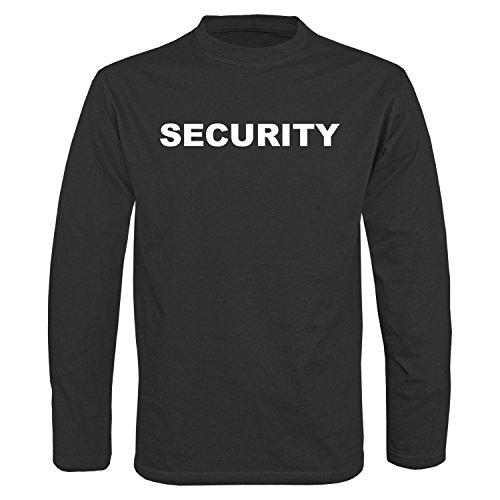 Security Langarm Shirt schwarz - L