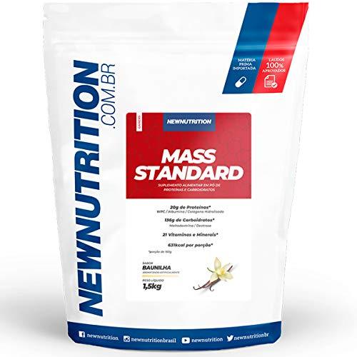 Hipercalórico Mass Standard Baunilha 1,5 Kg Newnutrition
