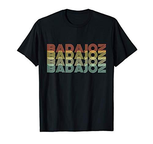 Badajoz Retro Inicio Vintage Ciudad Natal Camiseta
