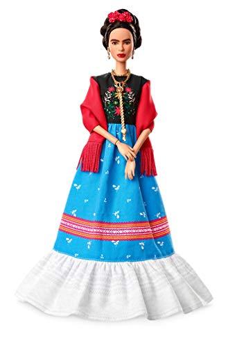 Barbie Collector FJH65 Inspiring Women Series Frida Kahlo Doll, Multicoloured