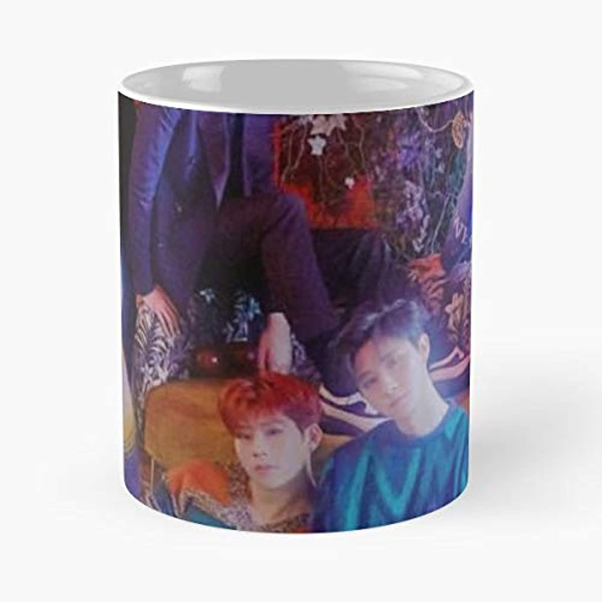 Monsta X Kpop Band Music 11 Oz Coffee Mugs Best Gift For Father Day