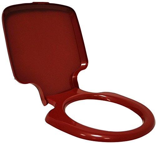 Thetford Porta Potti Qube 145/165/345/365 Toilettensitz mit Deckel rubinrot