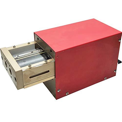 NEWTRY Elektrischer Tabakschneider Maschine Zigaretten und Tabak Schneidemaschine Tabak Kräuter Zerkleinern Maschine Zigarettenmaschine (1,0 mm)